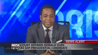 DONALD DUKE SPEAKS ON HIS APPEAL COURT VICTORY