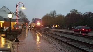 Amtrak crew change at Ashland 11/14/16
