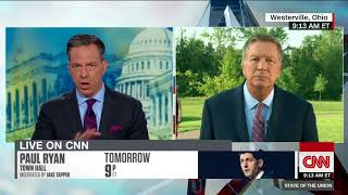 John Kasich  We're rooting for Trump to get it together (Full State of the Union interview)