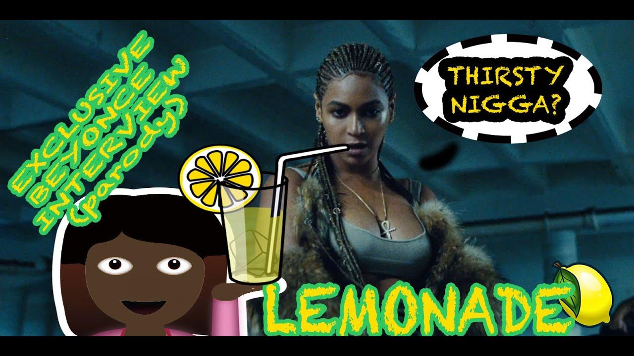 Beyonce ass interview