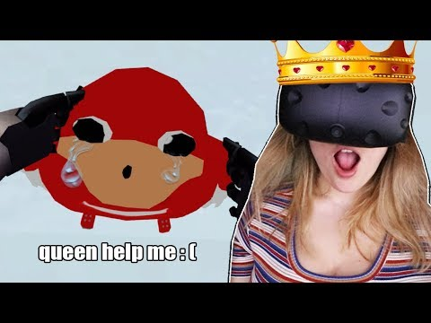 HE NEEDS MY HELP (VR CHAT)   I Am The Queen :D