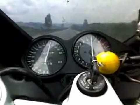 Yamaha YZF 600 R Thundercat acceleration 70-230km/h