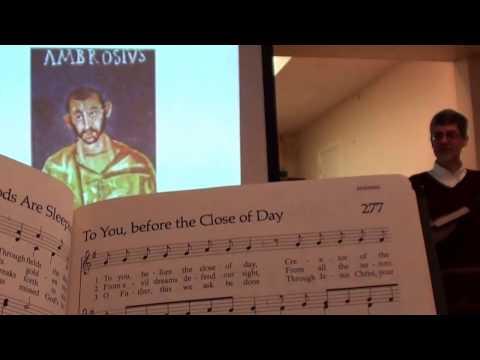 """Medieval Church History via Hymn Texts"" by Dr. Michael Krentz"