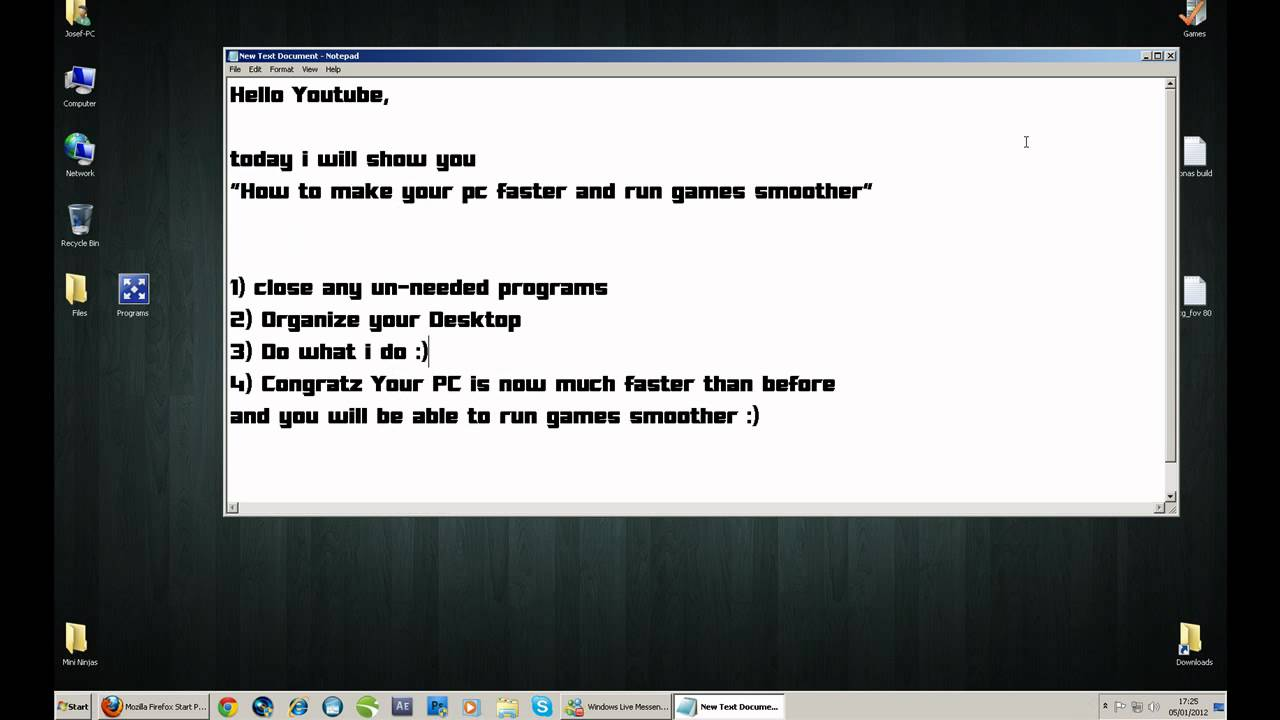How To Make Your Games Run Faster And Smoother (Windows ...