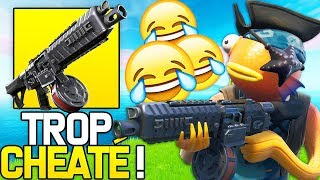 EPIC GAMES MUST NERF THE NEW ''FUSIL TO POMPE TO TAMBOUR'' CHEAT ON FORTNITE!