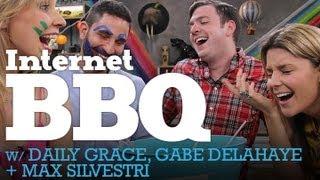 LIVE INTERNET BBQ! w/ DailyGrace, Gabe Delahaye and Max Silvestri - 5/30/12 (Full Ep)