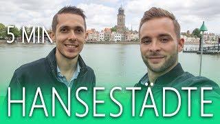 Deventer Zwolle Harderwijk ▶️ drei Hansestädte in 5 Minuten