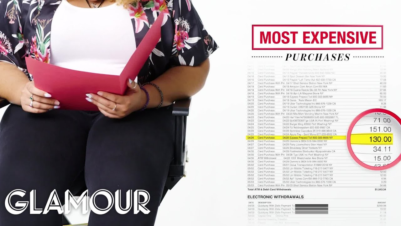 How One Woman Spends Her $15,000 Salary | Money Tours | Glamour