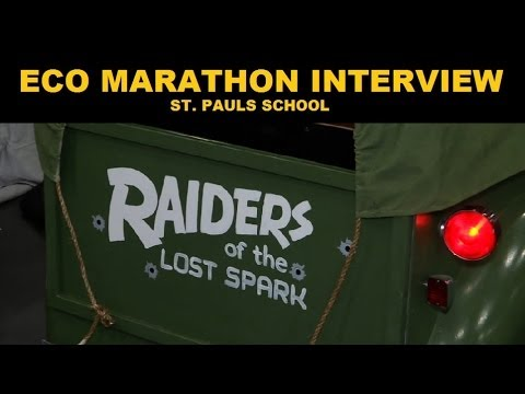 Eco Cars - Shell Eco-marathon - St. Paul's School Interview