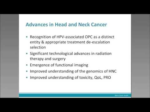 Head and Neck Cancer: An Update for Specialists
