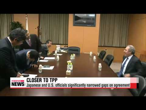 Japanese Prime Minister says U.S. and Japan are close to TPP deal   아베 ″미국과