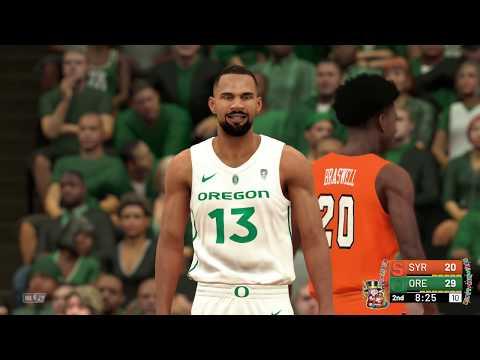 NBA 2k19 College Hoops 2k19 Syracuse vs Oregon Rosters Updated For 2018  2019 Season