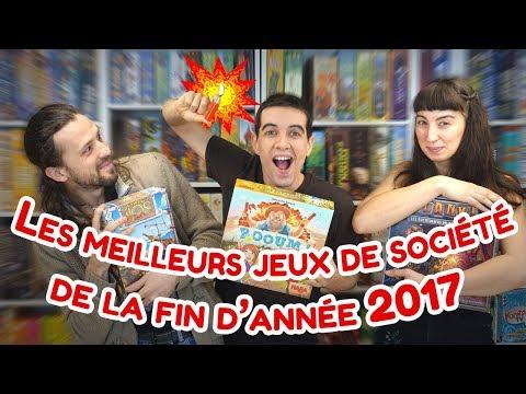 Les meilleurs jeux de société de la fin d'année 2017
