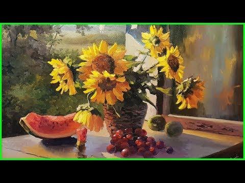 Видеоурок живописи маслом