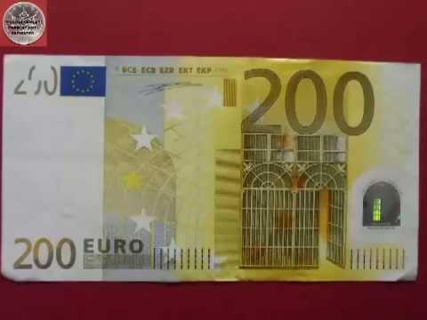 die euro scheine the euro bills serie 1 youtube. Black Bedroom Furniture Sets. Home Design Ideas