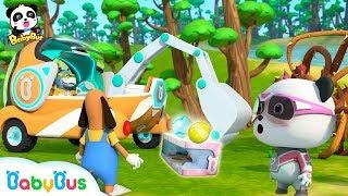 Super Panda Saves Surprise Eggs | Super Rescue Team | Panda Cartoon | Ice Cream, Hamburger | BabyBus