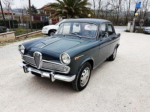 Alfa Romeo Giulietta 1300 ti, model year 1962
