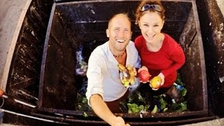 Dumpster Diving with Rob Greenfield - Green with Tiffany