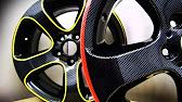 Аквапечать диски Технология покрытия - YouTube