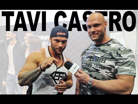 Tavi Castro | About developement of own brand, supplements, trainings | Interview FIBO 2017
