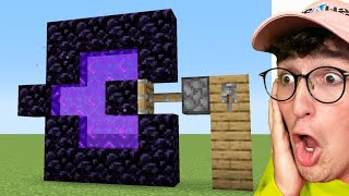Testing Viral Minecraft Hacks That Are 100% Real