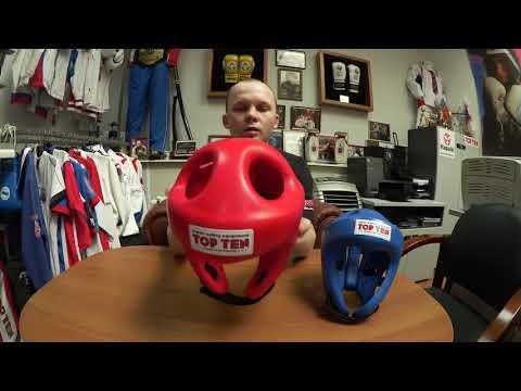 Шлем Top Ten Fight. Видеообзор лучшего шлема для бокса, кикбоксинга и тхэквондо.