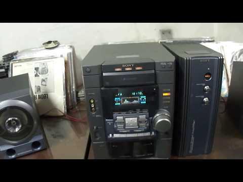 O Rei do Som - Sony HCD-DX80