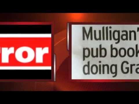 BREAKING NEWS   MULLIGAN'S BOOK IS A BESTSELLER