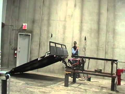 Hydraulic Deck Video Youtube