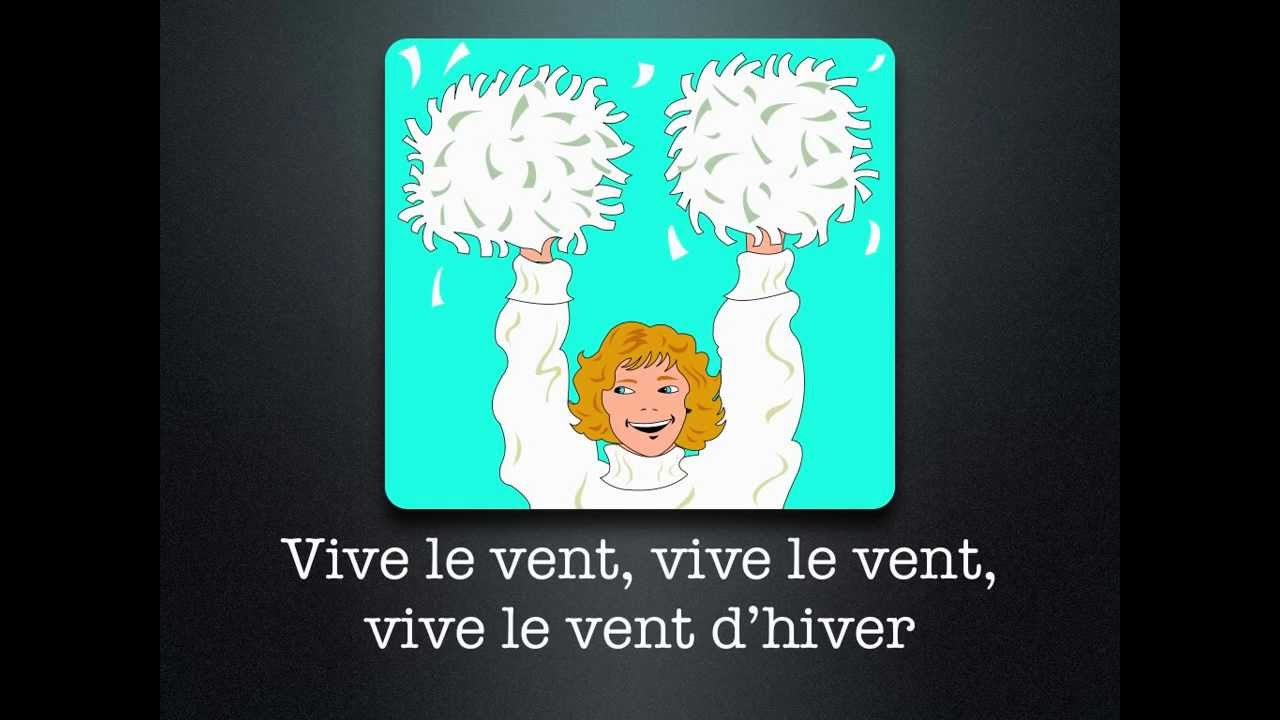 vive le vent a french version of jingle bells
