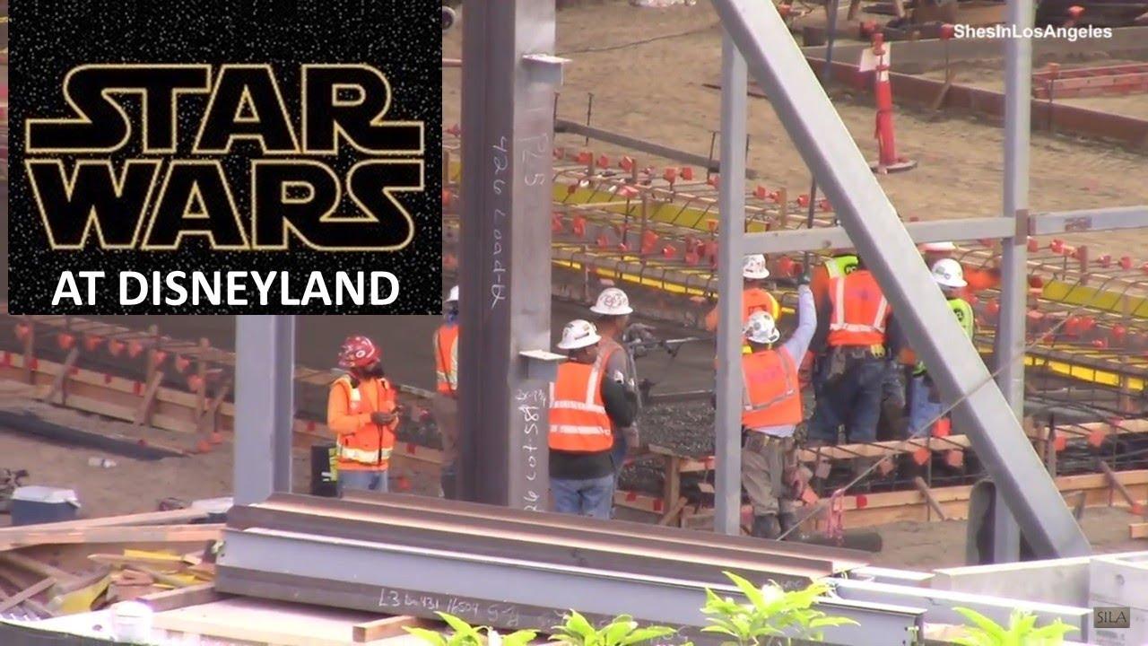 Disneyland - 9/20/17 Star Wars: Galaxy's Edge Construction ...