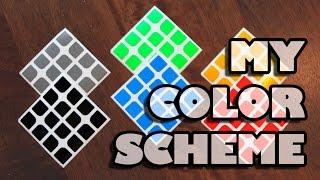 My Color Scheme  | Cubicle Sticker Picker