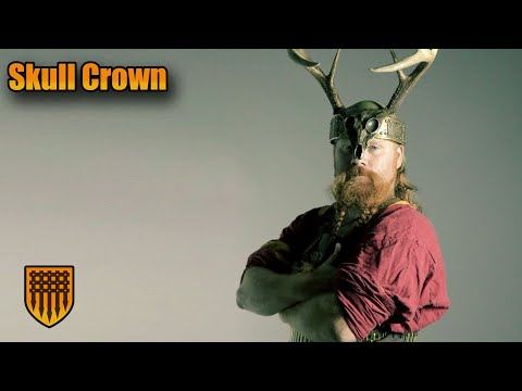 Making a Metal Deer Skull Viking Crown with Antlers - Building Armor for a King!