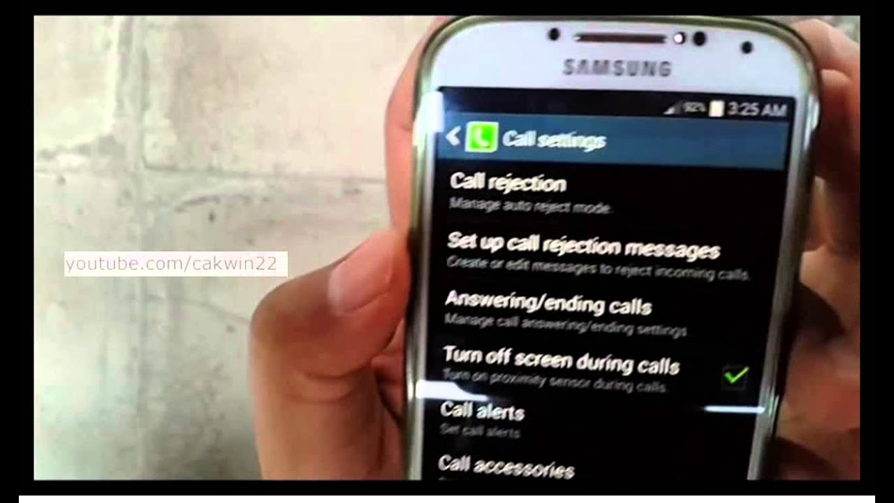 Samsung Galaxy S4 : How To Unblock A Number (android Kitkat)