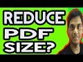 How To Reduce Pdf File Size | compress pdf file | Hindi | Helping abhi
