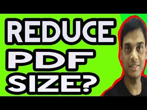 How To Reduce Pdf File Size | compress pdf file | Hindi | Helping abhi thumbnail