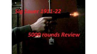 sig sauer 1911 22 5000 rounds frame slide check