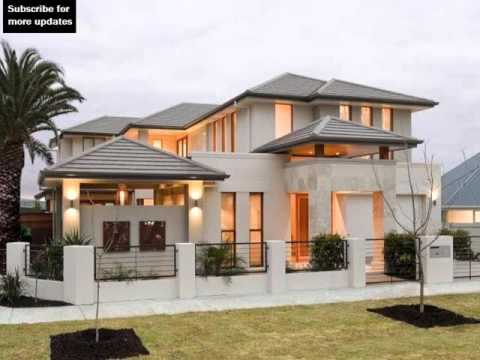 Watch on modern house designs and floor plans