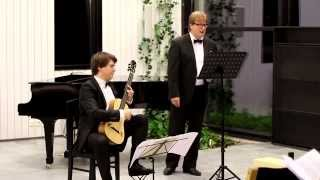 Franz Schubert: 3 Lieder nach Goethe (Heidenröslein, Meeres stille, Nachtgesang)