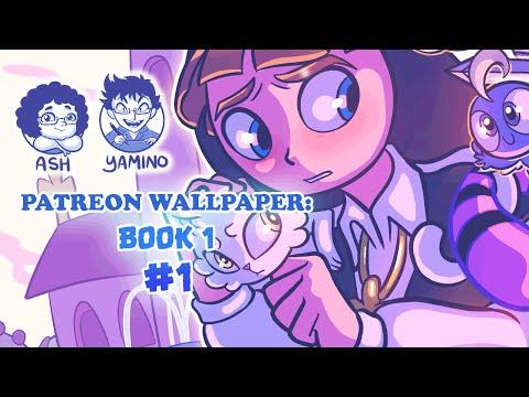 Wallpaper: Book 1 (Sketch)