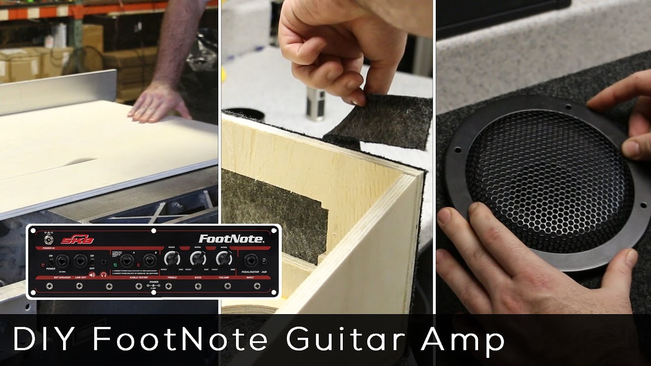 Footnote guitar amp kit product spotlight youtube footnote guitar amp kit product spotlight solutioingenieria Images