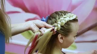 Обучение плетению! Урок №7! Две объемные косы с канекалоном