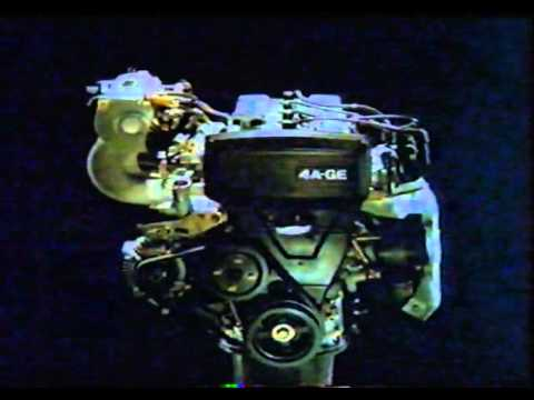 Toyota Multivalve Engine Promo Video 4A-GE and 2E-E (german)