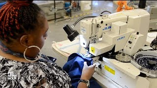 How this Cleveland pants factory is sewing hope