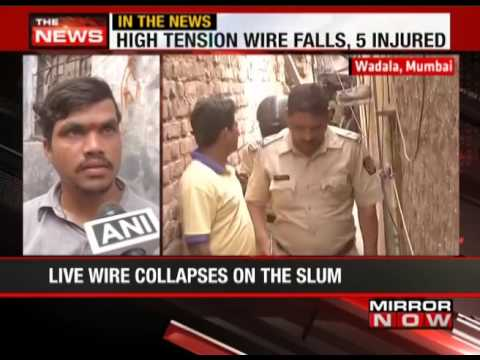 High tension wire causes blast in Wadala slum  - The News