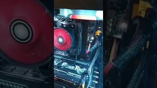 Msi b450m pro-m2 ez debug led suddenly stuck on CPU after a simple restart