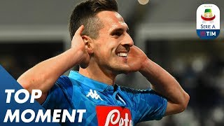 Milik Grabs Second Goal for Napoli | Parma 0-4 Napoli | Top Moment | Serie A