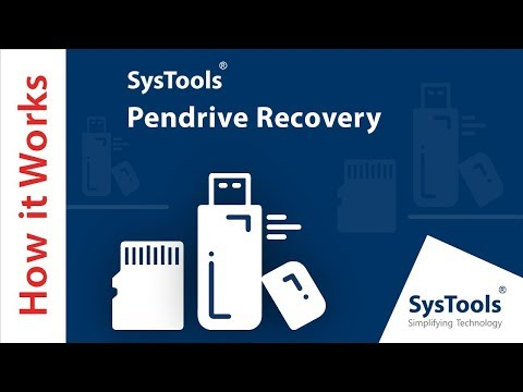 How to Recover Permanently Deleted Data from Pen Drive – SysTools