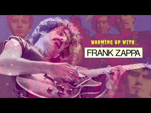 Warming up with... FRANK ZAPPA (Alternate Picking Exercise)
