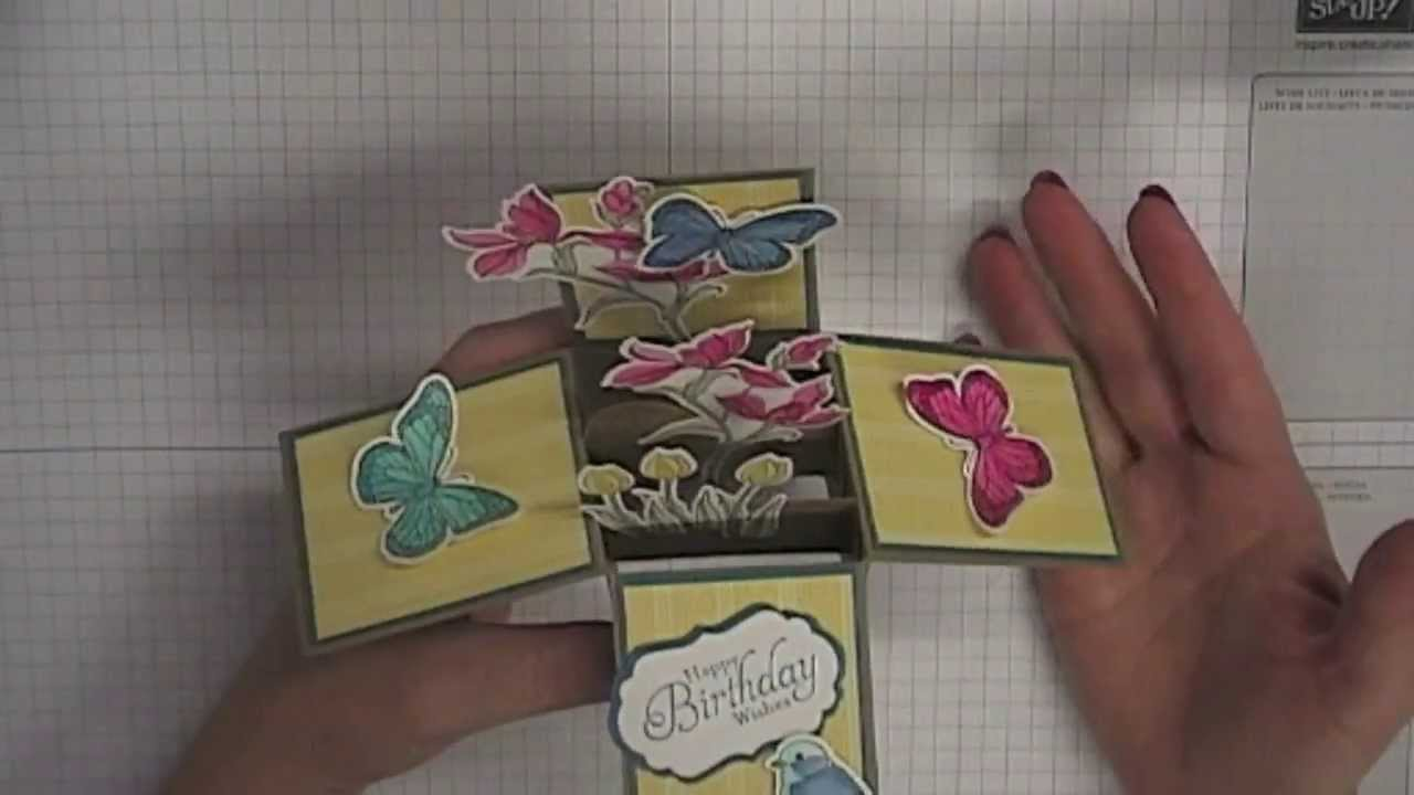 Top Stamping T! - Card in a Box - YouTube @UY_71